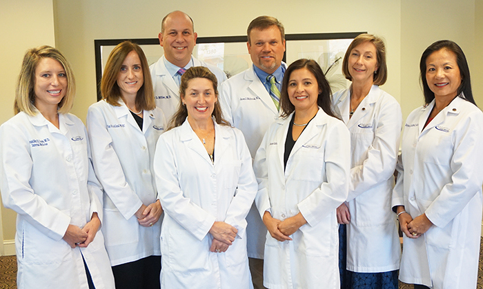 portrait of the physicians at Alpharetta Internal Medicine